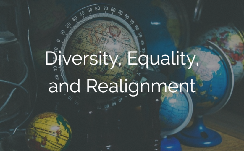 Diversity, Equality, and Realignment