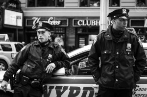 NYPD by Flickr user Brett Sayer